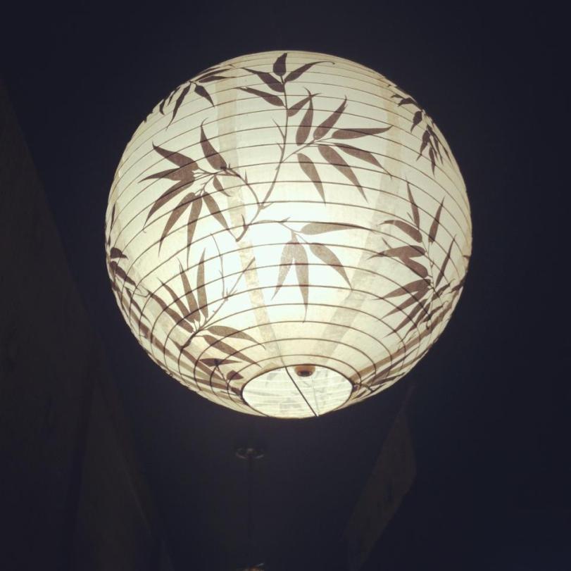 Lantern in Japanese Restaurant - Tuscaloosa
