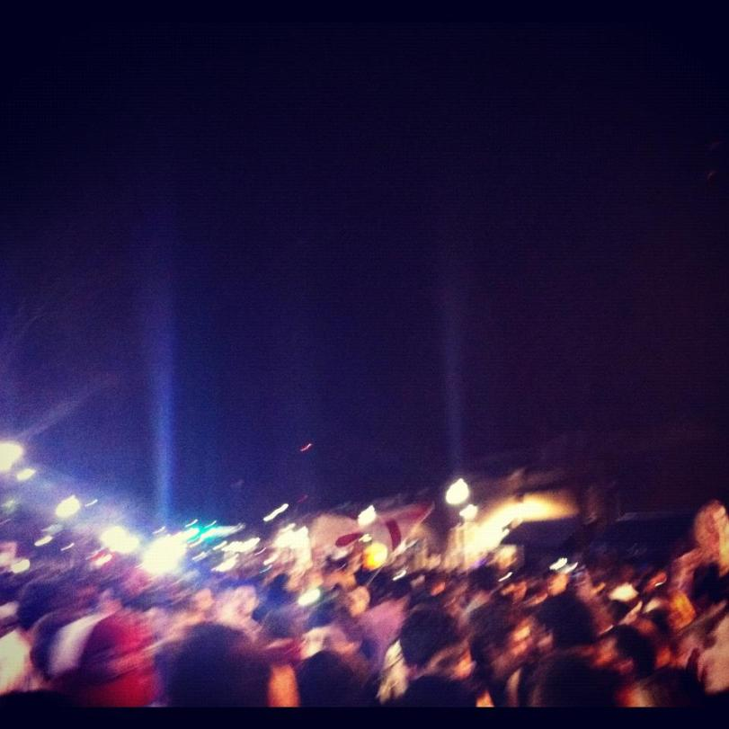 Craziness after BCS National Championship - Tuscaloosa, AL