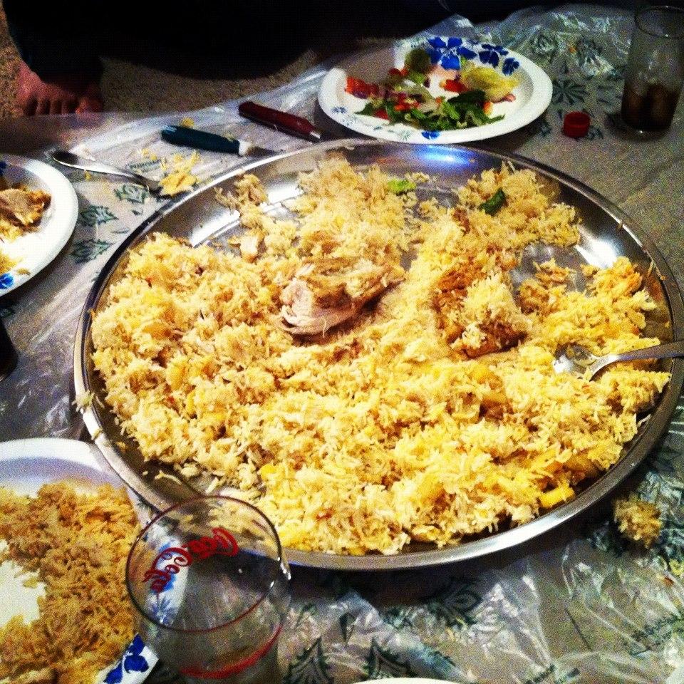 Arabic food night   Memoirs of an Adventurer