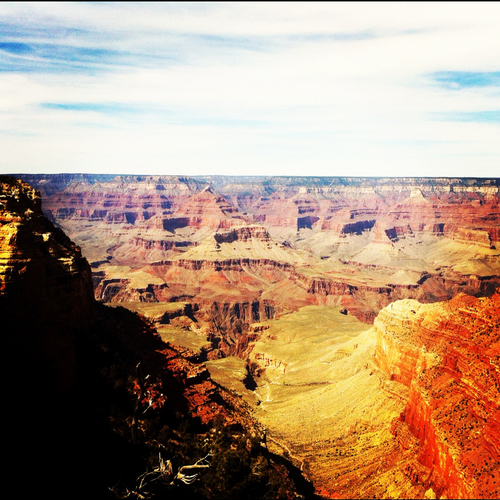 The amazing Grand Canyon.