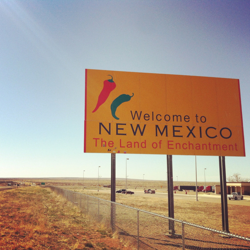 ...and we have arrived in New Mexico!