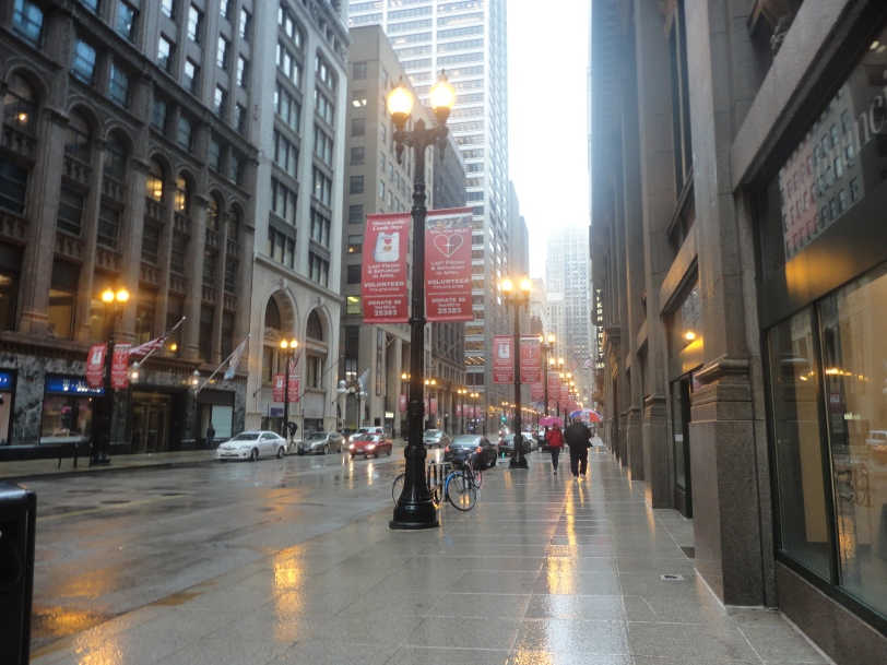 street lamps in chicago