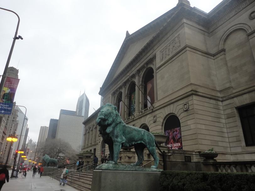 Lion of the Chicago Art Institute