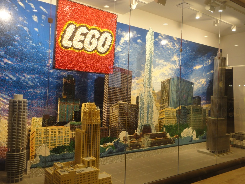 Chicago in Lego