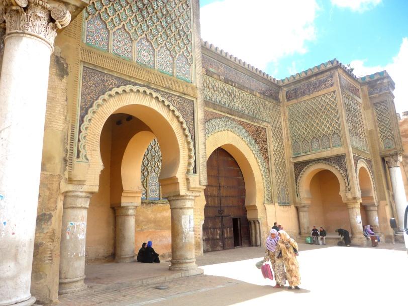 Bab Mansour of Meknes