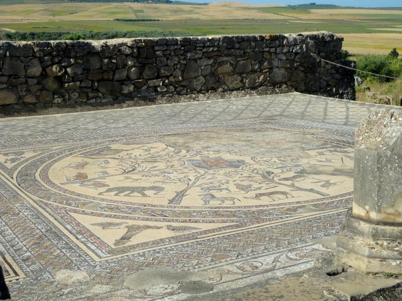 intact marble floor
