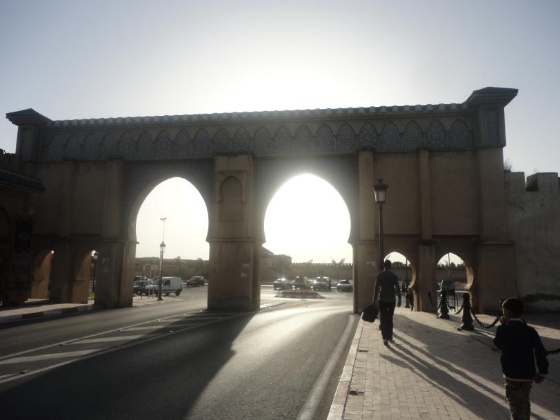 wanders in Meknes