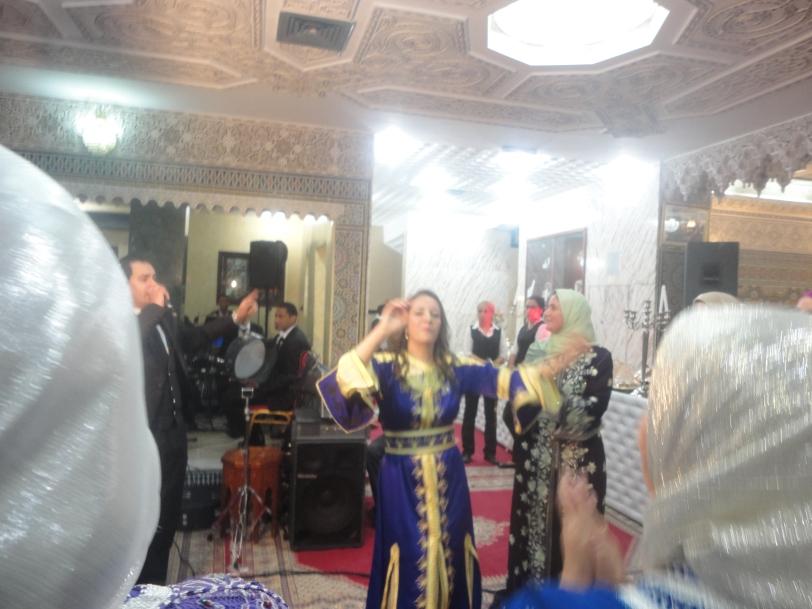 Moroccan dancing