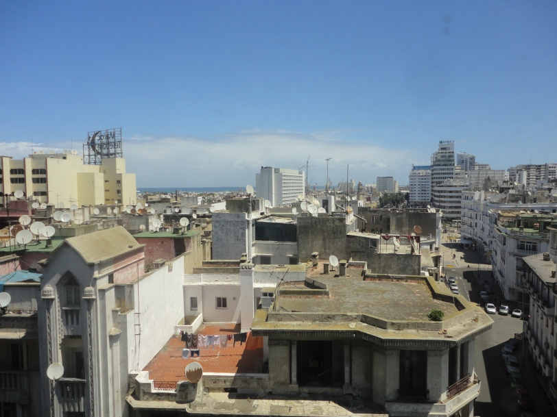over the rooftops of casablanca