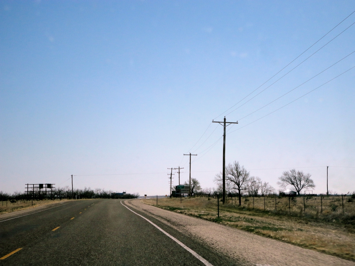 CouchTales:  Hitchhikers in Amarillo