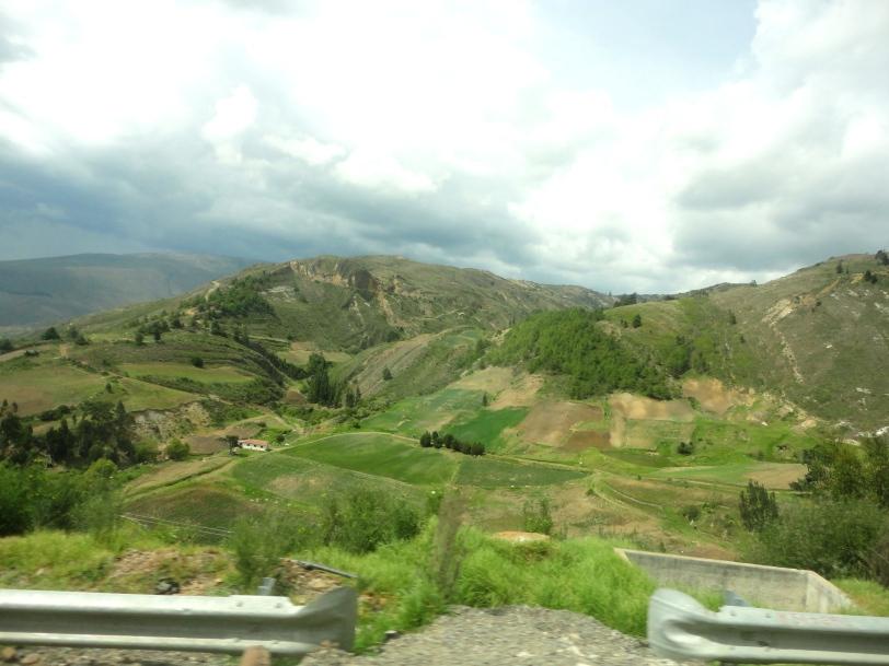 landscape near tunja