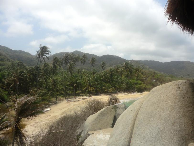 A view of the beach at Cabo San Juan