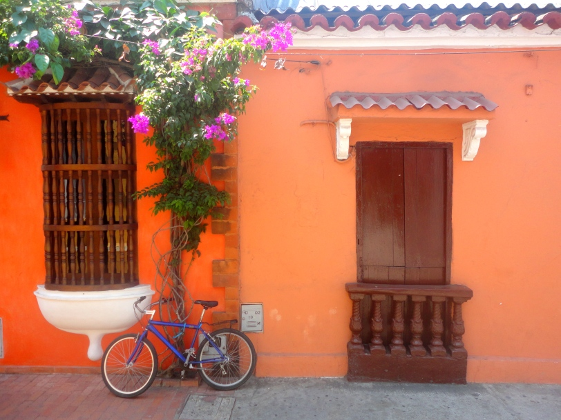 romantic streets of cartagena