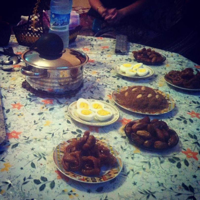 More Iftar food