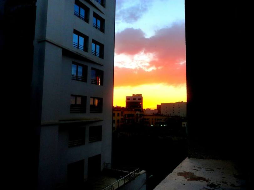 Sunset in Meknes