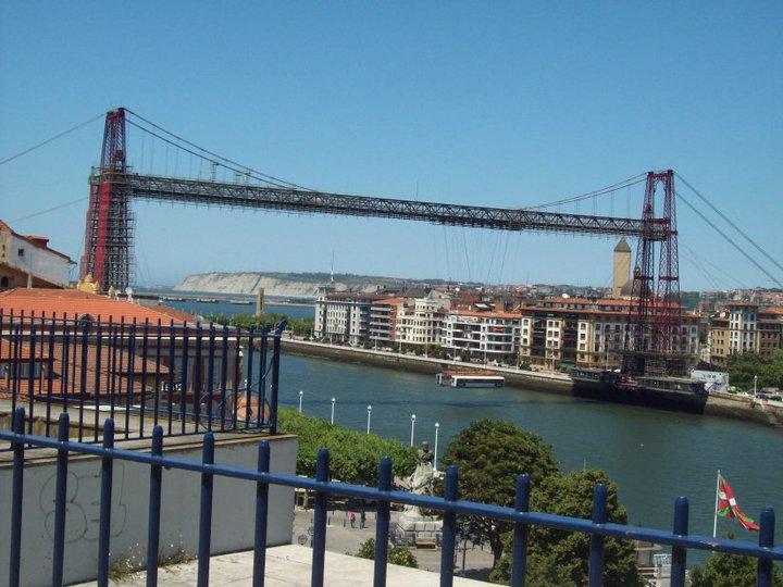 puente colgante hanging bridge