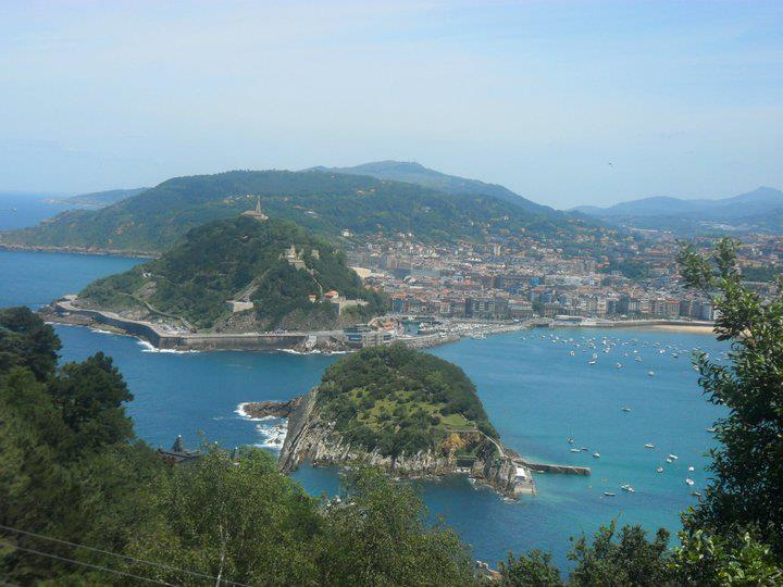 San Sebastian gorgeous view