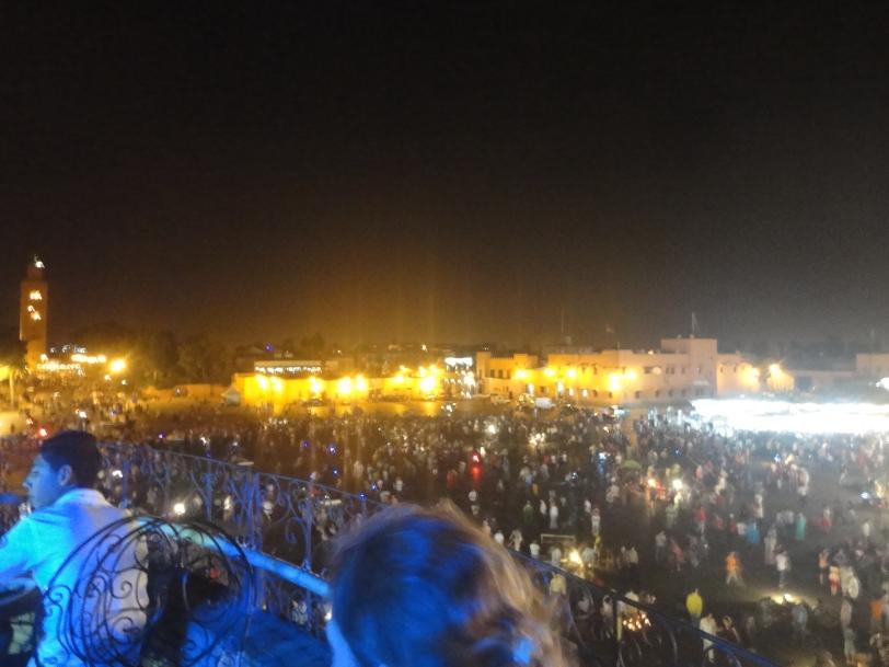 jemaa el fna crowds